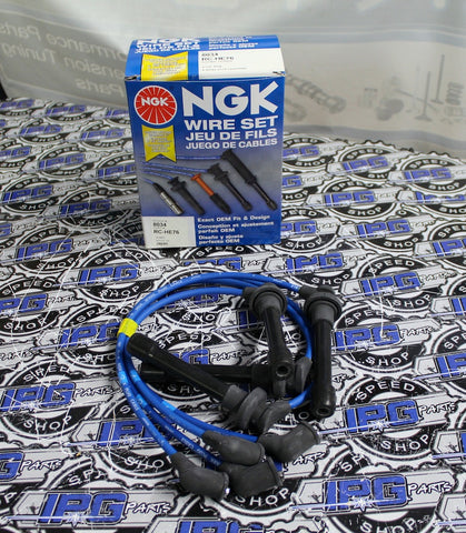 NGK Spark Plug Wire Set For 1992-2000 Honda Civic - D16Z6 D16Y8 Engines