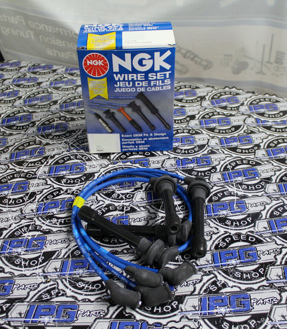 NGK Spark Plug Wires For 1990-2001 Acura Integra RS LS GS - B18A B18B Engines