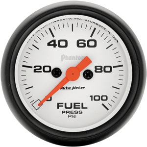 Autometer Phantom Fuel Pressure Gauge 0-100 PSI