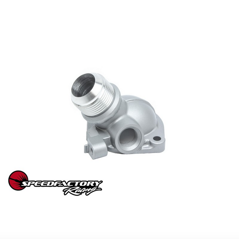 Speed Factory Racing -16AN Thermostat Housing for Honda & Acura Engines