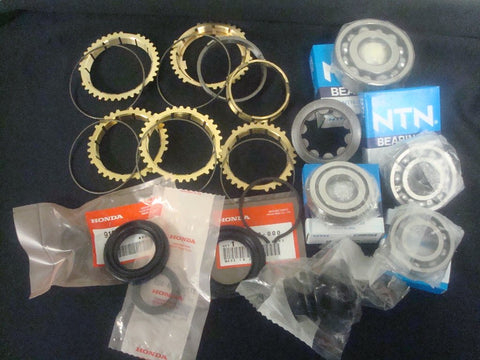 Y1 S1 B16 B18 88-91 Bearing Seal and Brass Synchro Kit