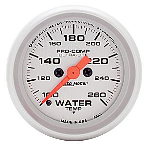 Autometer Ultra-Lite Water Temperature
