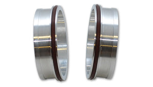 "Vibrant Performance Aluminum Weld Fitting with O-Rings for 2-1-2"" Tube O.D."