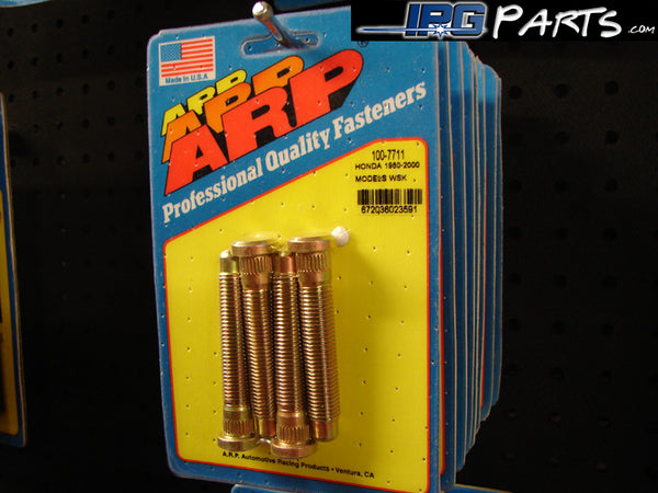 ARP Extended Wheel Studs for the Honda - Acura Civic, CRX & Integra (4 Pack) M12 x 1.5