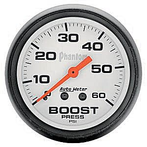 Autometer Phantom Boost Gauge 0-60 PSI (Mechanical)