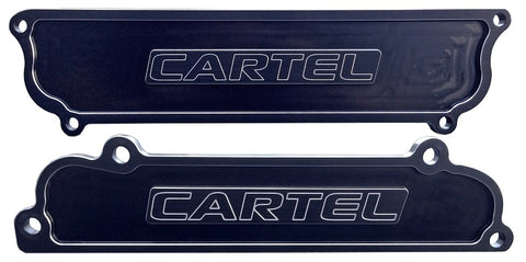 Drag Cartel Intake and Exhaust Port Covers for K Series Engines