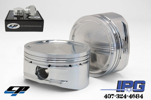 CP Pistons for D16z6, 75.5mm Bore, 9.0:1 Compression