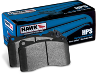 Hawk HPS Rear pads 90-00 Civic-CRX, 93-97 Del Sol, 90-01 Integra