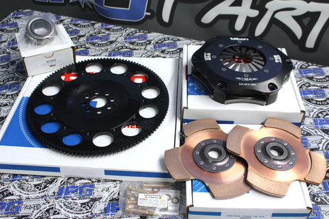 Tilton Cerametallic Twin Disk Clutch Kit - Honda & Acura B16, B18, B20 Engines.