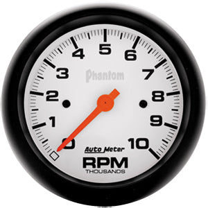 Autometer Phantom Tachometer Single Range