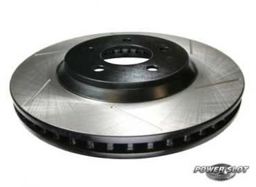 Power Slot Rear Left Brake Rotor 92-00 Civic, 93-97 Del Sol, 90-01 Integra