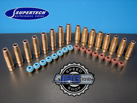 Supertech Performance Bronze Valve Guide & Seal Package for Honda - Acura B Series B16 B16A B18 B18B B18C B20 Engines