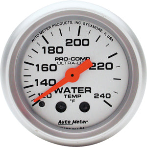Autometer Ultra-Lite Water Temperature Mechanical Gauge