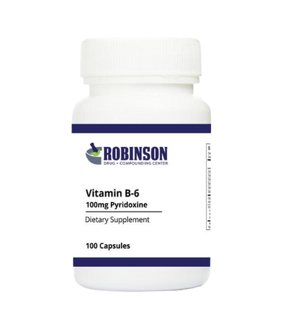 Vitamin B-6 / Pyridoxine 100 mg