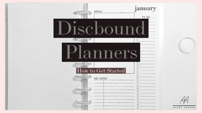 Discbound Planners | How to Get Started