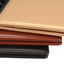 Load image into Gallery viewer, Vegan Leather Snap-In Discbound Covers | Half Letter and A5 Size
