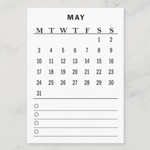 Load image into Gallery viewer, Calendar Card | May 2021