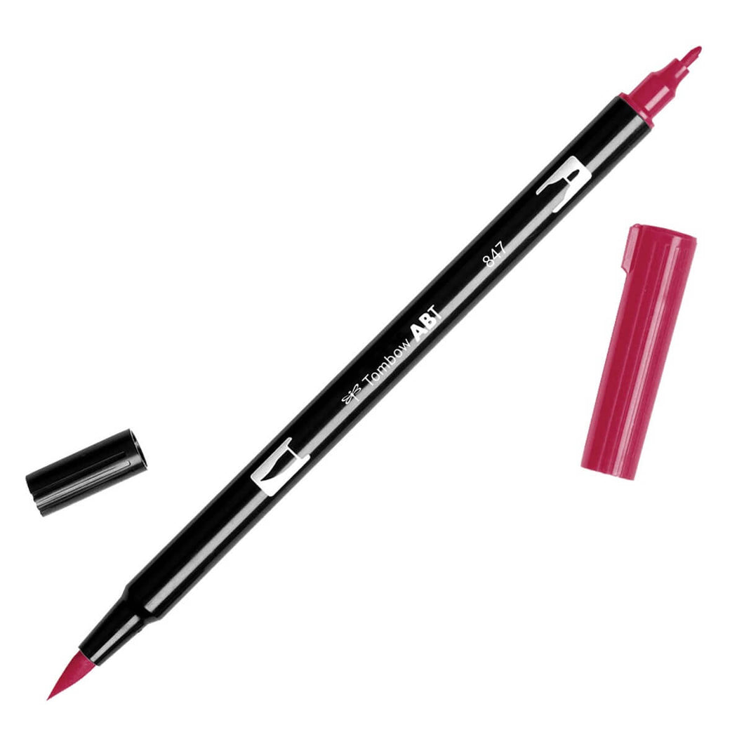 Tombow Dual Brush Pen | 847 | Crimson