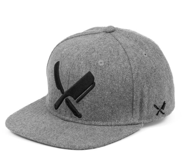 DISTORTED PEOPLE - BLADES WOOL/GREY FELT/BLACK/SNAPBACK CAP