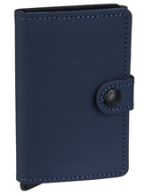 Lade das Bild in den Galerie-Viewer, MINIWALLET MATTE NIGHT BLUE