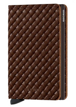 Lade das Bild in den Galerie-Viewer, SLIMWALLET BASKET BROWN
