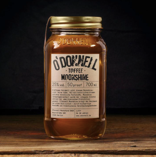 O'Donnell Moonshine | Toffee