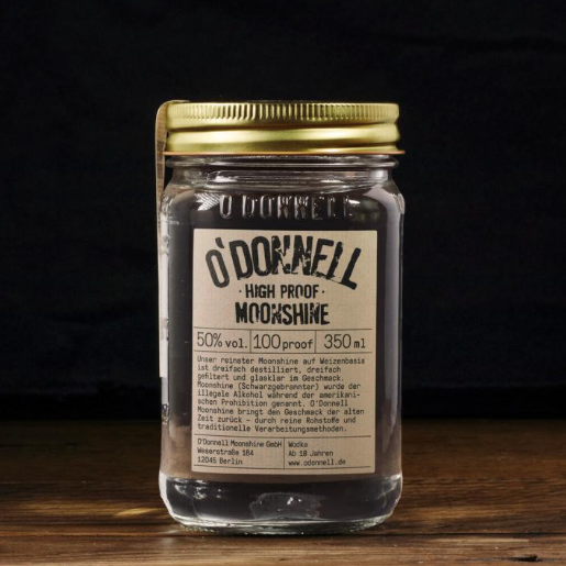 O'Donnell Moonshine | High Proof