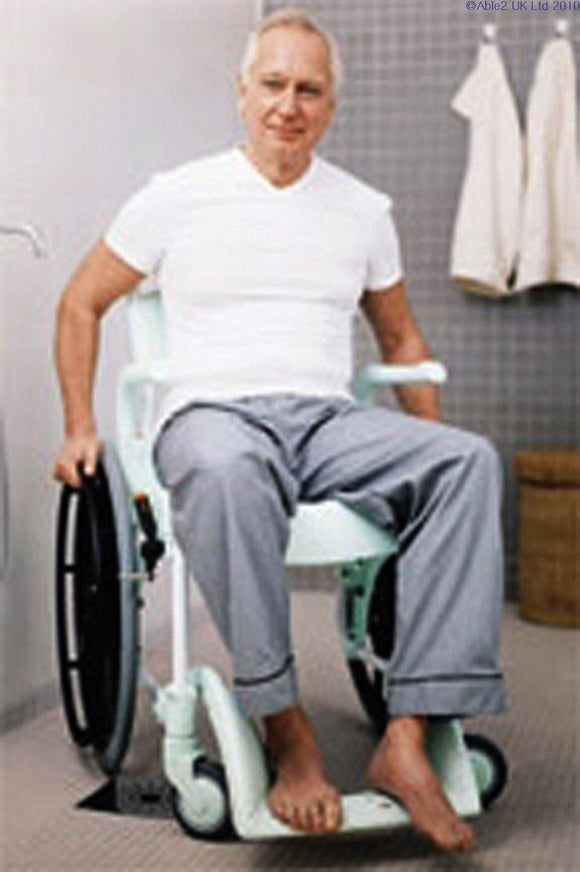 Clean Shower & Toilet Chair - Self Propelled - Beejaymobility - UK Mobility HealthCare