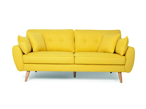 Vintage Button Tufted Sofa