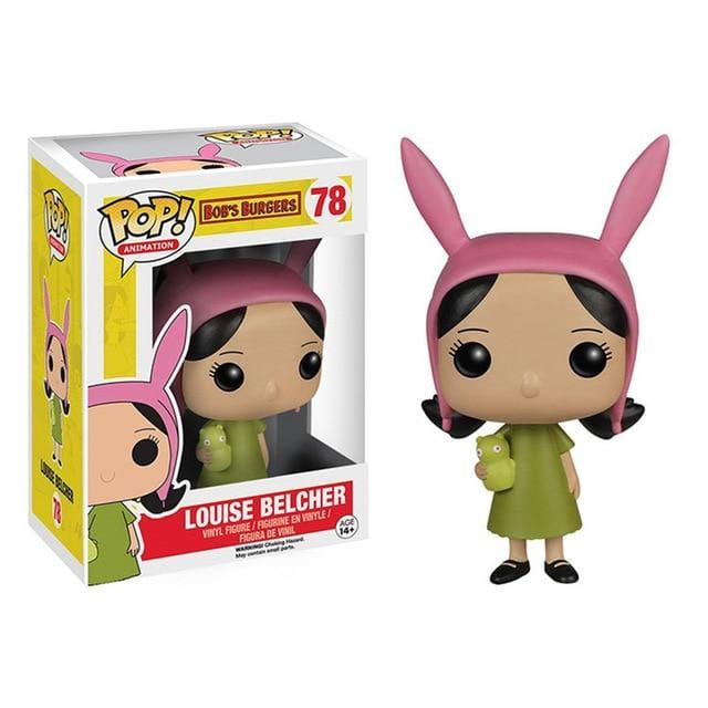 Funko POP Animation Series: Bob's Burgers #78 Louise Cute Vinyl Dolls #74