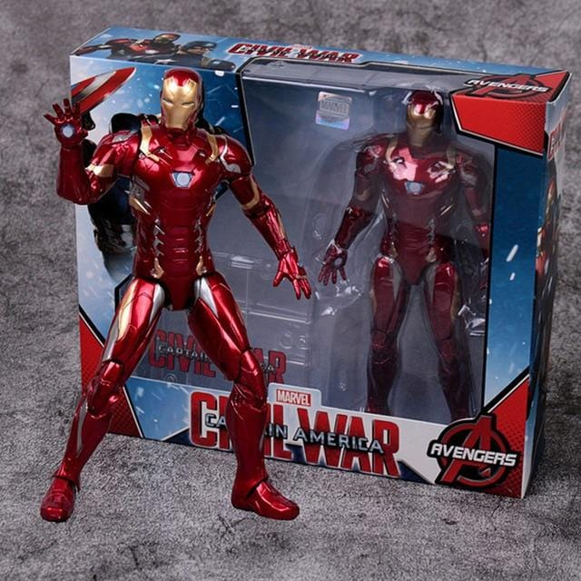 Collection figurines Marvel 2021