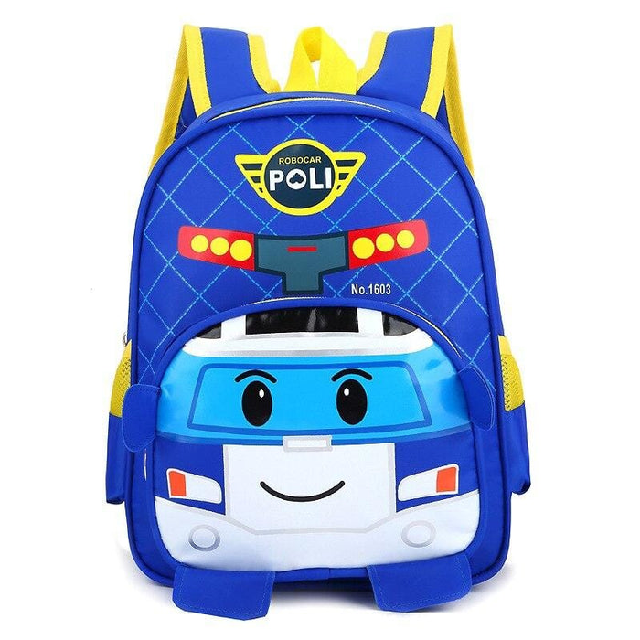 ROBOCARPOLY: HIGH-CAPACITY SCHOOL BACKPACKS