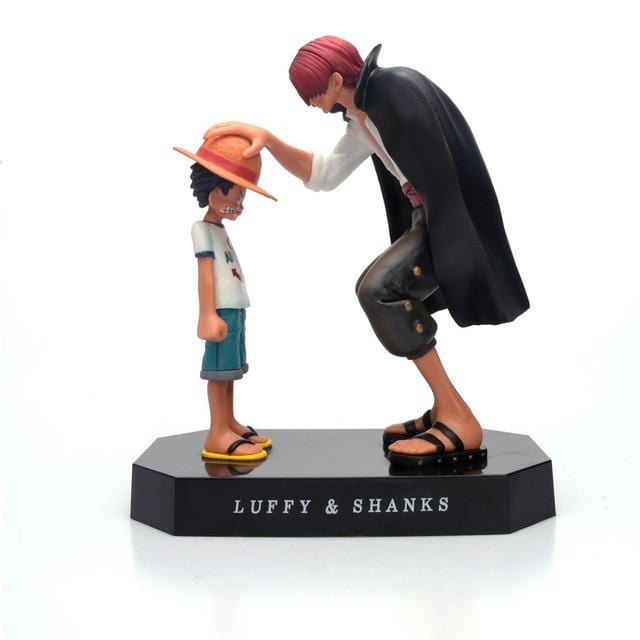 Figurine de Shanks et Luffy