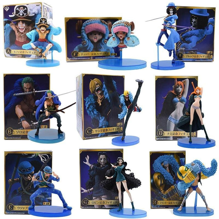 Collection figurines One Piece 20th anniversaire