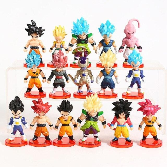 Miniature Dragon Ball Super Collezione