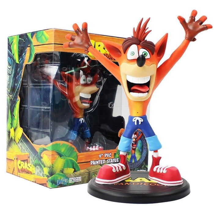 Figurine de Crash Bandicoot version 2