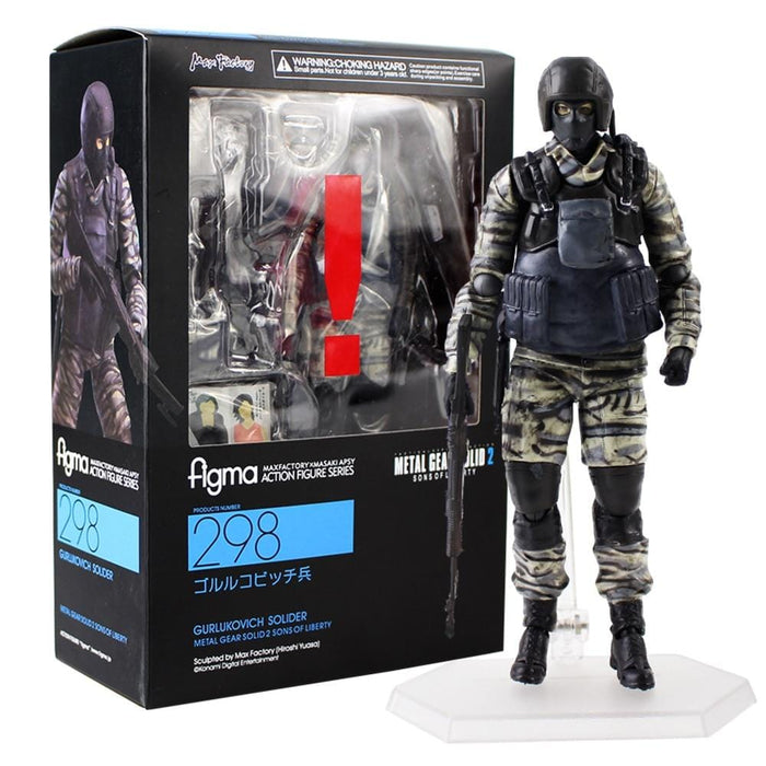 Figurine Metal Gear Solid 2