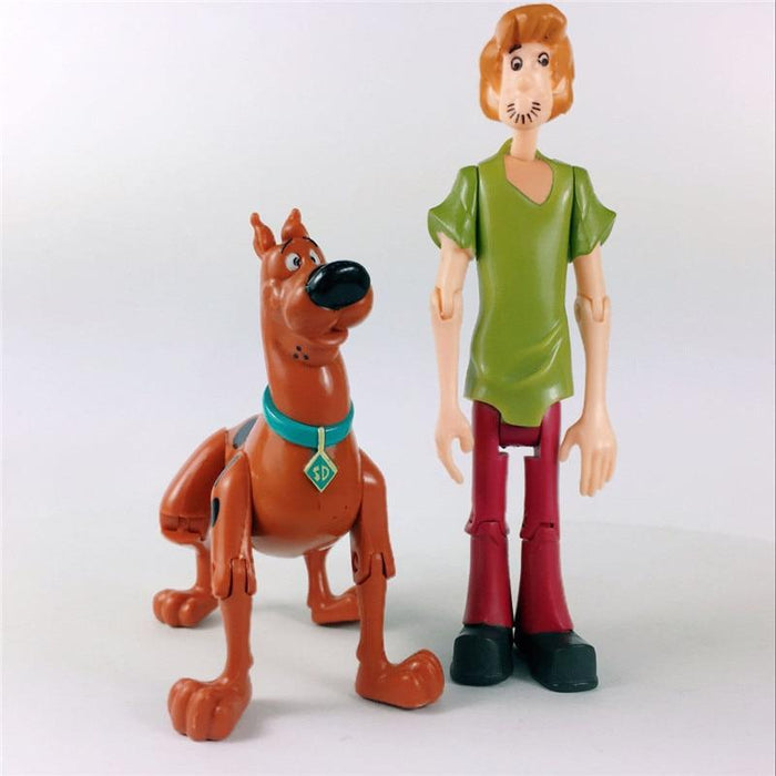 Lot 2 figurines Scooby-Doo et Sammy