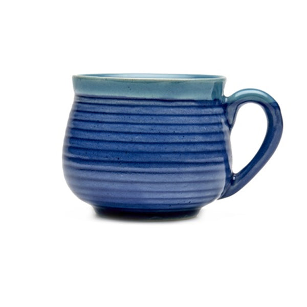 Vegan Grooved Tea Cups - Set of Six