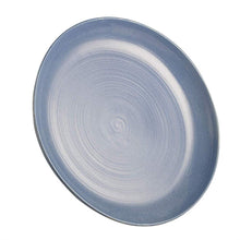 Load image into Gallery viewer, Vegan High Fired Ceramic Matt Black Platter Large Round