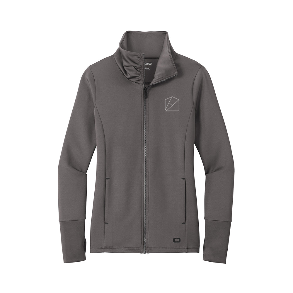 Ladies Modern Performance Full-Zip