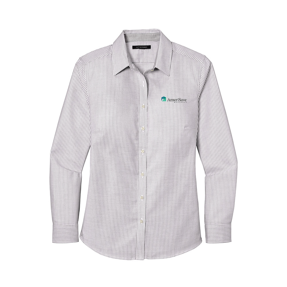 Ladies SuperPro™ Oxford Stripe Shirt