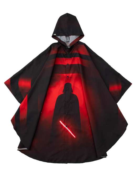 RED VADER PONCHO