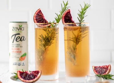 Earl Grey Blood Orange Mimosa
