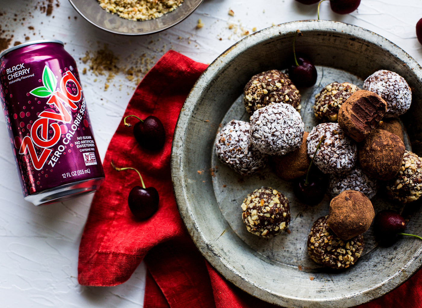 Black Cherry Chocolate Truffles