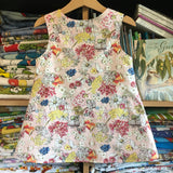 Snugglepot & Cuddlepie Pink pinny - handmade girls dress