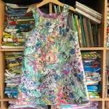 Botanica pinny - handmade girls dress