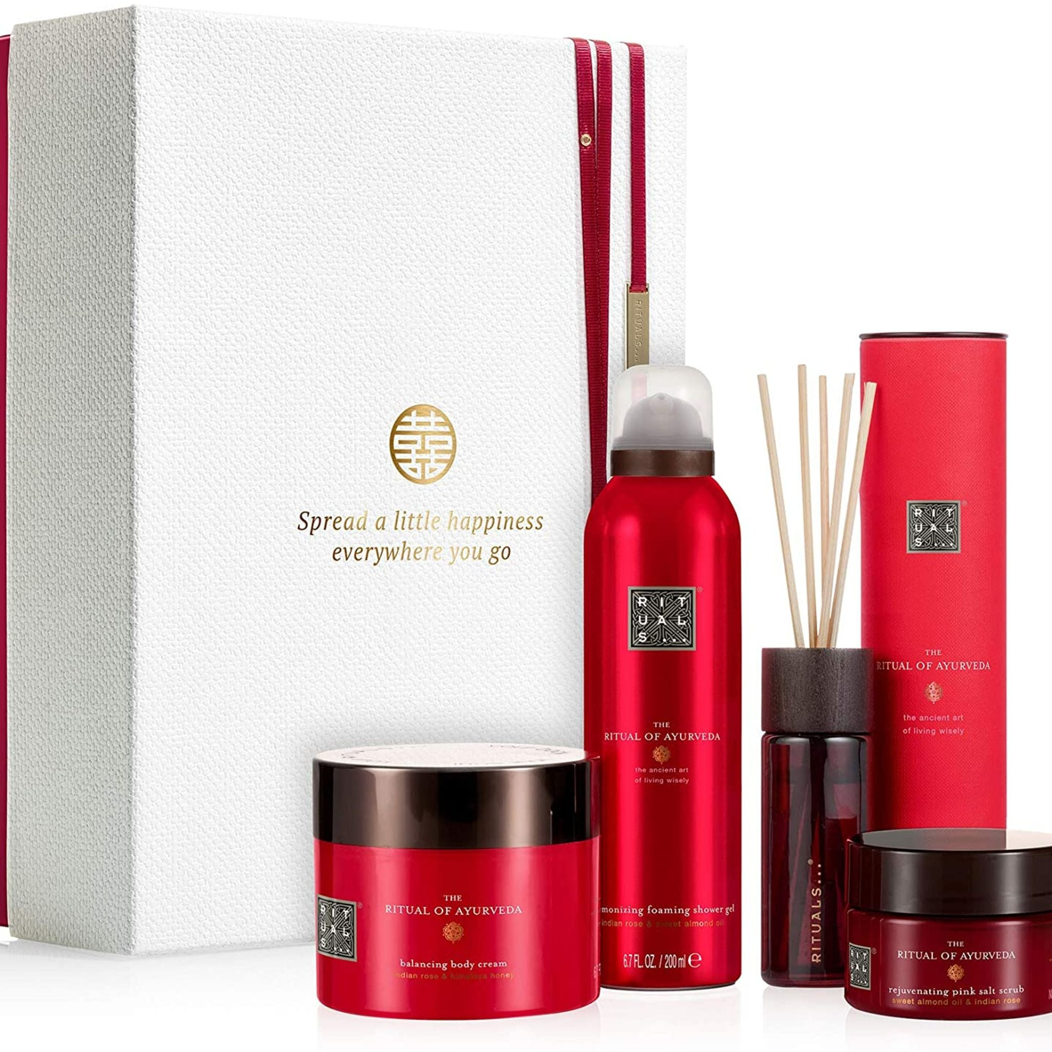 The Ritual of Ayurveda Rebalancing Ritual Bodycare Gift Set