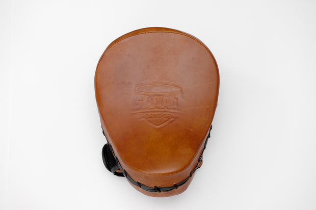 Leather Focus Pads - Vintage Style