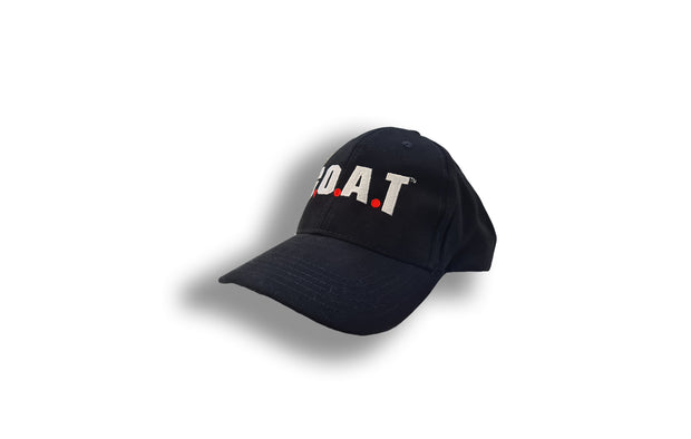 G.O.A.T Embroidered Baseball Cap - Black